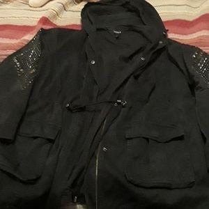 Torrid twill field jacket